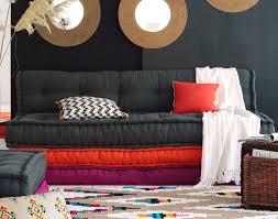 canapé coussin de sol gros coussins de canapé fashion designs