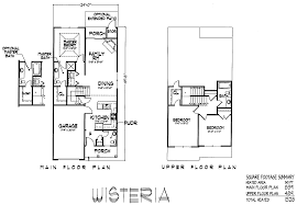 Wisteria Floor Plan by Millcreek Townhomes U0026 Cottages The Avail Group