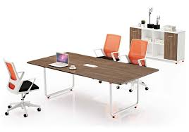 Metal Conference Table 2016 Simple Modern Office Furniture Metal Frame 4 Seater