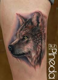 25 best realistic wolf tattoos images on pinterest tattoo ideas