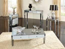 mirrored pyramid living room accent side end table mirrored side table living room side tables ideas