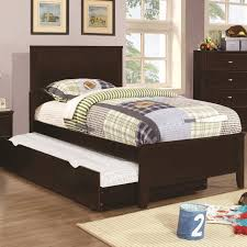 Full Size Bedroom Sets Coaster Ashton 4pc Full Size Trundle Bedroom Set In Cappuccino
