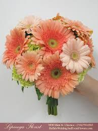 Peach Flowers Top 20 Bridesmaid Bouquet U0026 Dress Color Combinations Of 2015