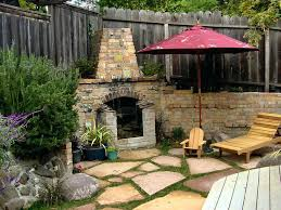 Backyard Fireplaces Ideas Small Backyard Fireplace U2013 Popinshop Me