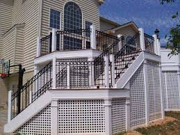 hercules fence maryland custom balcony railings virginia