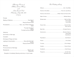 christian wedding programs best wedding program templates obfuscata