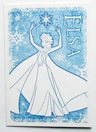 amazon disney frozen elsa colour trading card 136