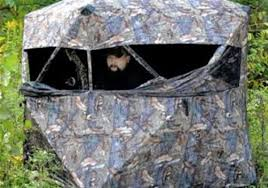 Ground Blinds For Deer Hunting Ground Blinds Offer Deer Hunters Options Not Found In Tree Stands