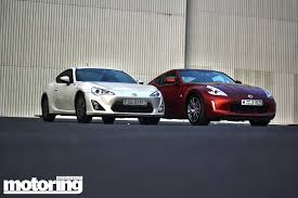 nissan fairlady 370z price twin test toyota 86 vs nissan 370z motoring middle east car