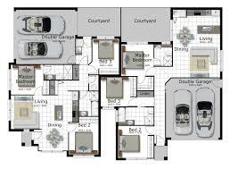 floor plans for narrow blocks corner lot house plans melbourne
