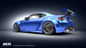 modified subaru brz ml24 automotive design prototyping and body kits