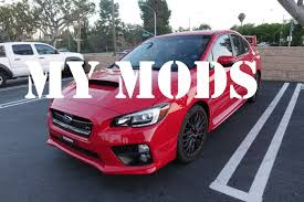 sti subaru red my mods 2016 subaru wrx sti walkaround pure red youtube