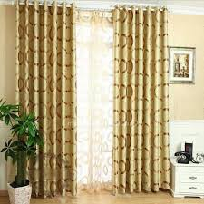 Gold Color Curtains Gold Color Printing Thermal And Blackout Best Home Fashion