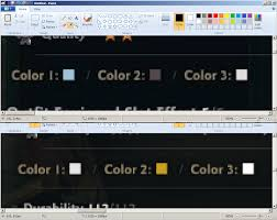 how do you find the exact rgb color code for a col vindictus