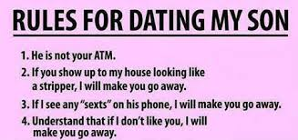 My Son Meme - rules for dating my son weknowmemes