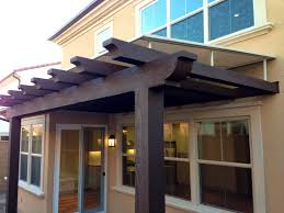 apartments personable front door awning pergola cover and wood