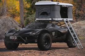 subaru wrx offroad ferrari u0027s laferrari gets an off road makeover includes rooftop