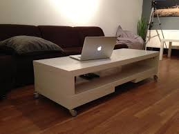 coffee table interesting hol storage table acacia 98x50 cm ikea