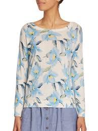 joie eloisa floral print sweater lyst