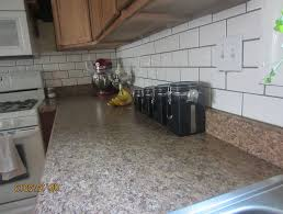Grouting Kitchen Backsplash Grouting Kitchen Backsplash Project Railing Stairs And Kitchen