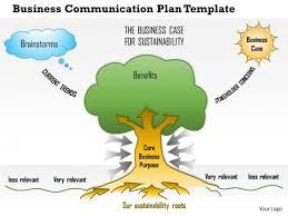business framework business communication plan powerpoint