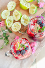 raspberry mojito recipe black raspberry and rosemary mojito gastrosenses