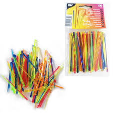 trendy cocktail sticks picks colourful new plastic party buffet