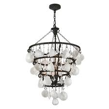 Home Depot Bronze Chandelier Troy Lighting Barista 8 Light Vintage Bronze Chandelier F3825