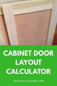 Cabinet Door Dimensions Raised Panel Cabinet Door Calculator Inch Calculator