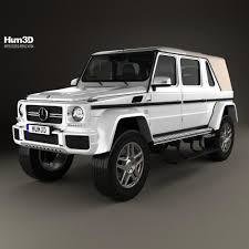 maybach landaulet mercedes benz g class w463 maybach landaulet 2017 3d model hum3d