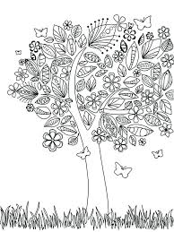 Coloring Pages Tree Medium Size Of Coloring Coloring Pages Sheet Tree Coloring Pages