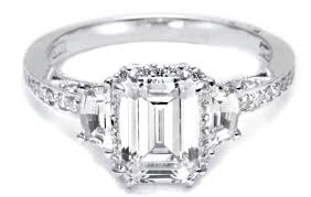 horizontal emerald cut engagement ring ring how to buy an emerald cut engagement ring beautiful