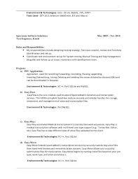 Manual Testing Fresher Resume Samples Manual Testing Resume Manual Testing Resume Format Samples Resume