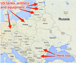 Cold War Europe Map by The Strategy Washington Used Against The Soviet Union During The