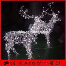 reindeer sleigh with led lights reindeer sleigh with led lights