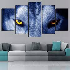 compare prices on blue wolf canvas art online shopping buy low
