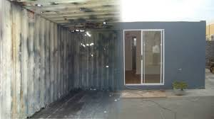 rdp sized house made from disused shipping containers youtube