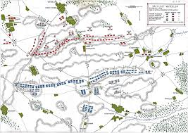 King Of Prussia Map Battle Of Waterloo
