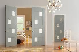 Interior Bedroom Doors With Glass Trustile Modern Door Collection Interior Glass Doors Modern