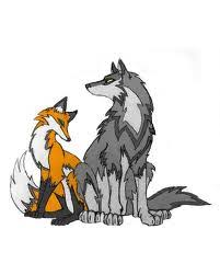 kitsunes and wolves images wolf and fox wallpaper and background
