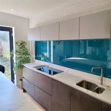 lacquered glass kitchen cabinets item china factory modern kitchen backsplash grey painted lacquered glass