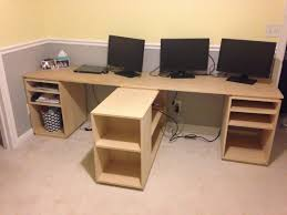 How To Build An Office Desk Filthy To Flawless Home Office Desk Build Finished For Now