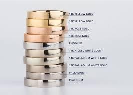 14k palladium white gold a guide to precious metals gordon jewelers