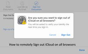 sign into icloud on android how to remotely sign out icloud on all browsers