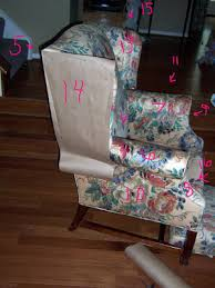 How To Make A Wing Chair Slipcover Bibbidi Bobbidi Beautiful How To Slipcover Sofas And Chairs