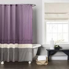 Shower Curtain To Window Curtain Purple Shower Curtain Chic Purple Shower Curtain U2013 Home Decor