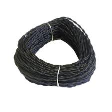 Landscape Lighting Wire by High Tech Pet 100 Ft Black Solid Landscape Ultra Wire Tw 100