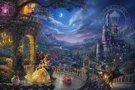 disney art thomas kinkade company