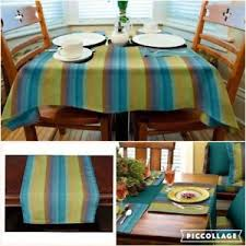 table runner or placemats sunbrella outdoor tablecloth tablerunner or placemats astoria
