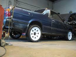 subaru pickup conversion 1993 subaru brat erm wrx retro rides